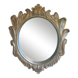 Italian Rococo Style Circular Wall Mirror