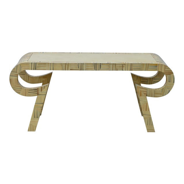 Alessandro Painted & Lacquered Console / Desk for Baker Furniture - Image 1 of 11