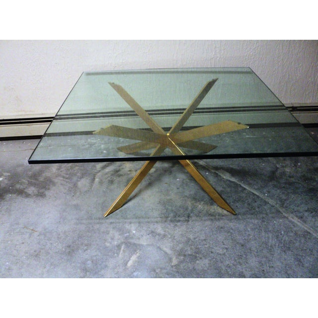 Pace Collection Double X Coffee Table Base | Chairish