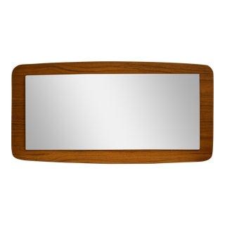 Teak Danish Modern Mirror