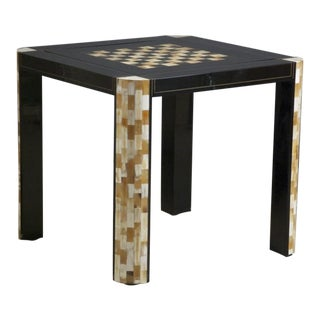 """Aldo Tura """"Attributed"""" Game Table"""