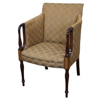 Southwood Inlay Sheraton-Style Club Chair