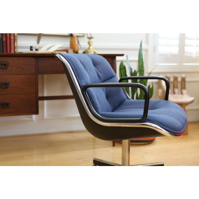 Mid-Century Modern Knoll International Desk Chair - Image 5 of 9