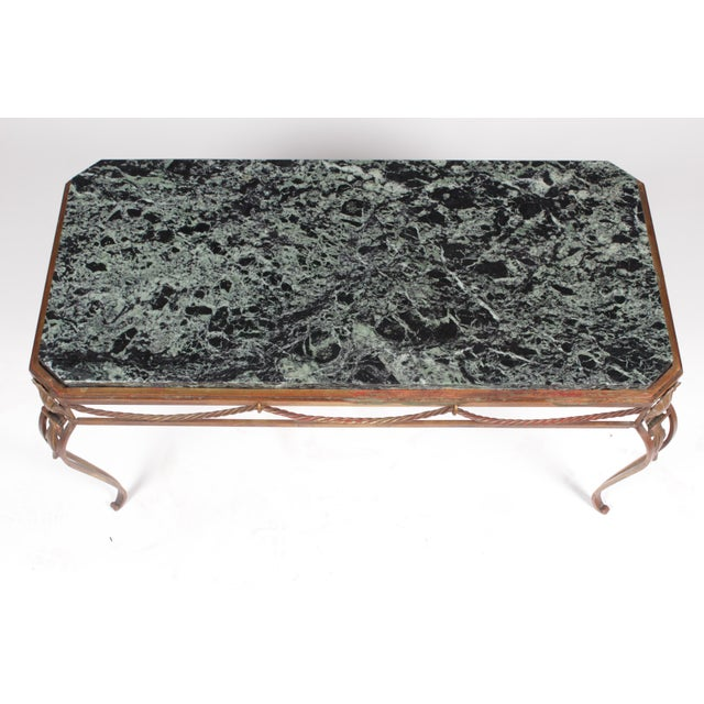 Vintage Italian Style Gold Coffee Table - Image 6 of 7