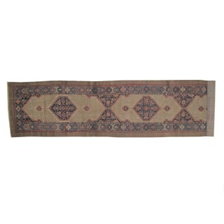 "Leon Banilivi Antique Sarab Runner - 3'6"" X 16'7"""
