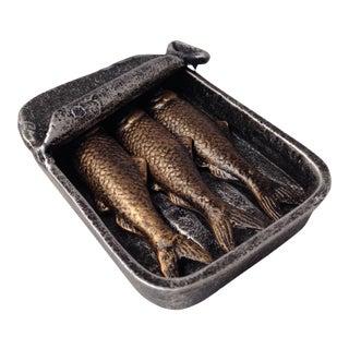 Sardines Decor Tin