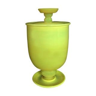 Venetian Venini Style Lidded Vase
