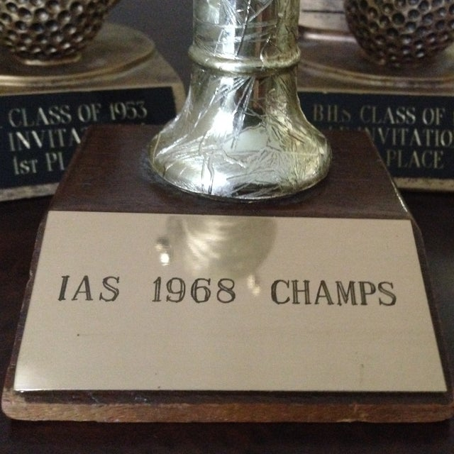 Image of Mid Century Collection of Sports Trophies - 3