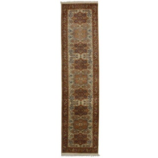 RugsinDallas Hand Knotted Persian Style Runner - 2′6″ × 10′1″
