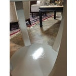 Image of Mid-Century Lacquered Side Tables - A Pair