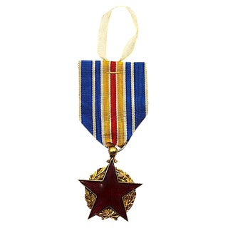 French WWI Wounded War Medal Ornament