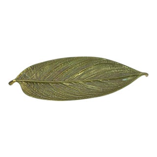 1940s Metalcrafters Leaf Catchall