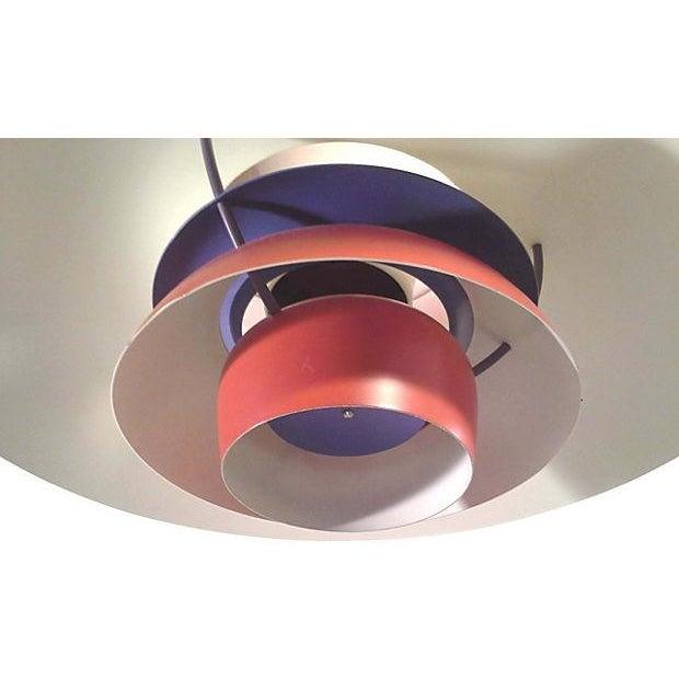 Red Danish Ph5 Hanging Light - Image 4 of 4