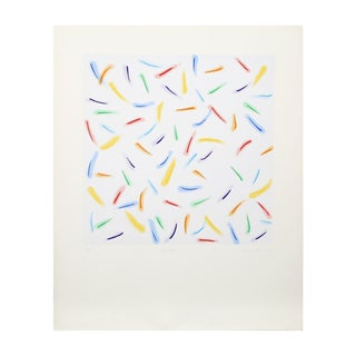 "Antonio Peticov ""Light Explosion I"" Lithograph"