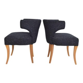Pair of Side Chairs by Dunbar