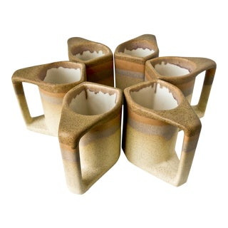 Rodolpho Padilla Mid-Century Coffee Mugs - S/6