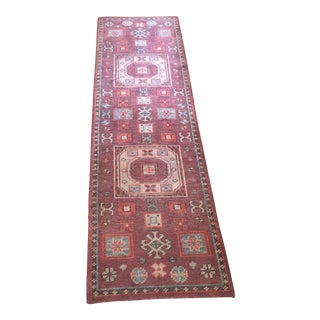 "Indian Greta Surya Wool Runner Rug - 2'6"" x 8'"