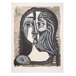 Image of Pablo Picasso - Tete De Femme Lithograph