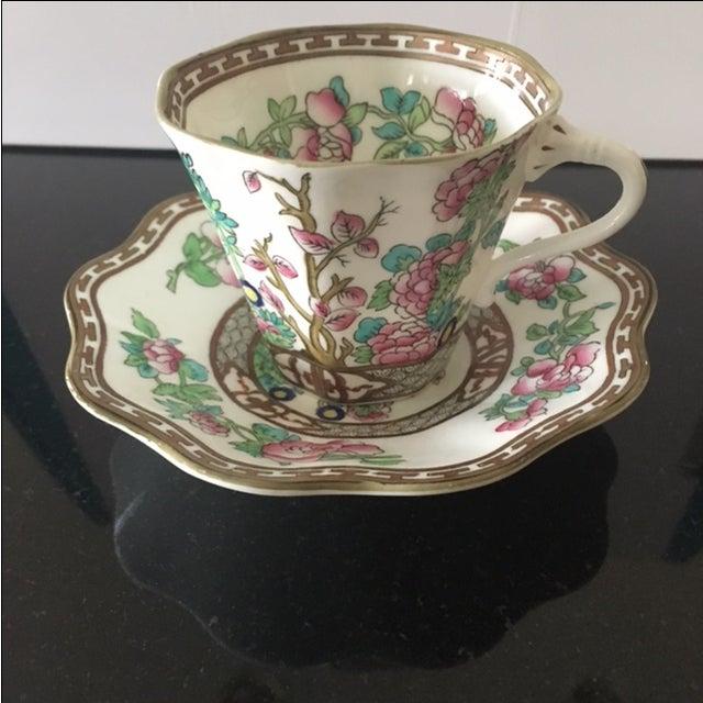 Vintage Coalport Bone China Tea Cup and Saucer Set - Image 2 of 7
