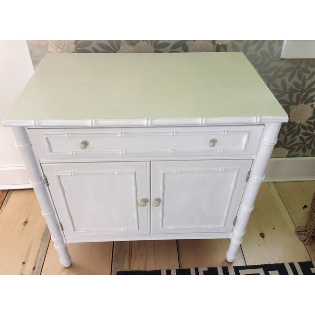 Thomasville Faux Bamboo Sideboard - Image 2 of 3