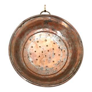 Vintage Copper Colander