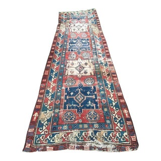 19th Century Russian Runner - 4' X 12'5""