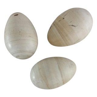 Stone Eggs - Set of 3