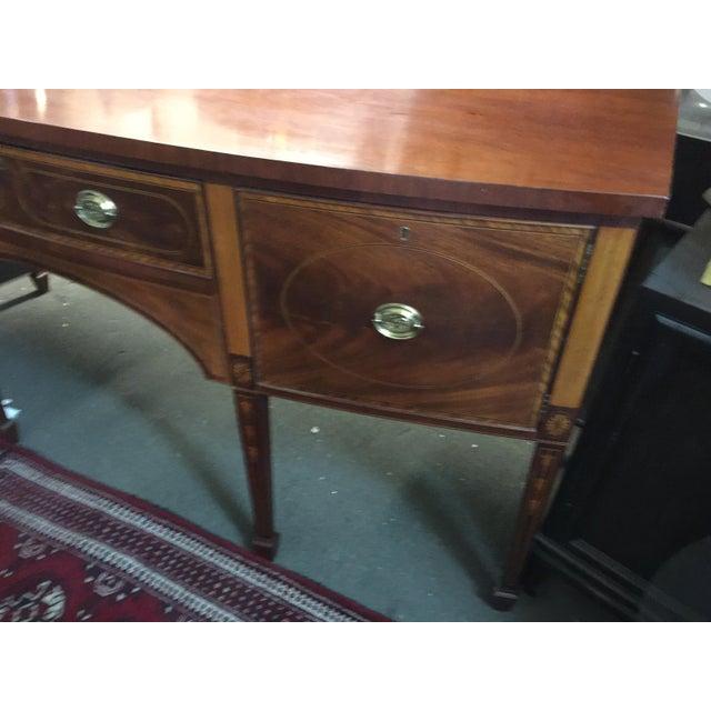 Baker Furniture Sideboard Colonial Williamsburg - Image 4 of 10
