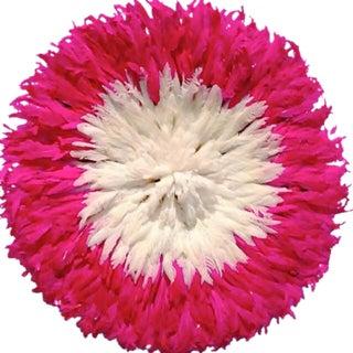 Pink Fuchsia Bamileke Juju Hat