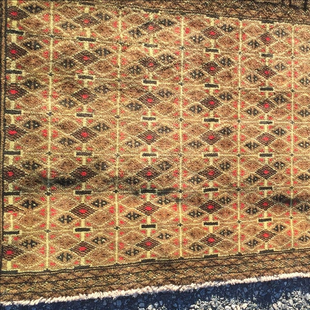 Turkanan Persian Rug - 2′1″ × 3′9″ - Image 3 of 7