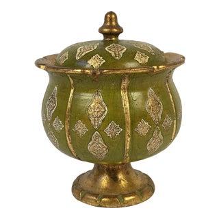 Italian Florentine Pottery Urn