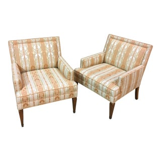 Selig Upholstered Club Chairs - A Pair