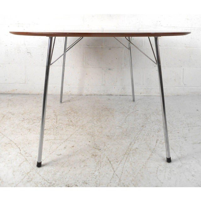 Mid-century Modern Teak Dining Table by Arne Jacobsen for Fritz Hansen - Image 2 of 7