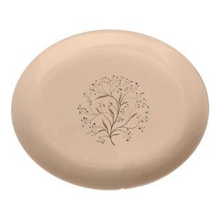Homer Laughlin Mid-Century Oval Serving Platter