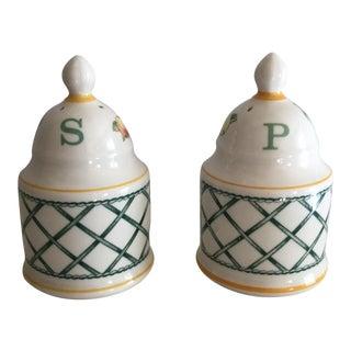 """Villeroy & Boch """"Basket"""" Salt & Pepper - A Pair"""