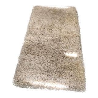 Soft New Zealand Wool Long Shag Rug - 2′11″ × 5′