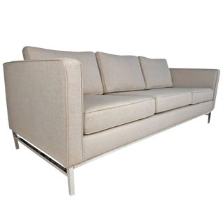 Mid-Century Modern Florence Knoll Style Sofa