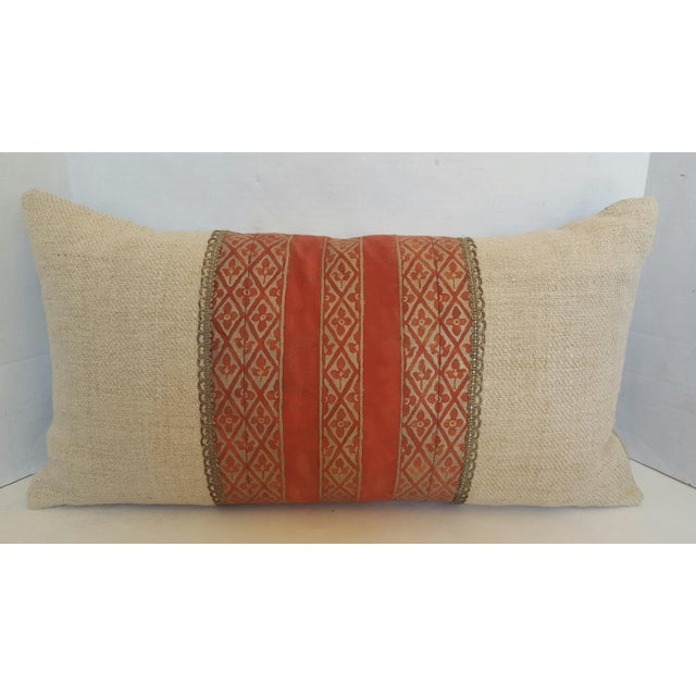 Image of Fortuny Border Banded Pillow