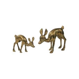 Brass Deer - Pair