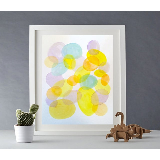 Image of 'SPRiNG Fever' 2/3 Original Watercolor Painting