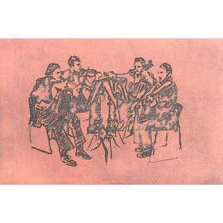 Jacklyn Friedman String Quartet Print