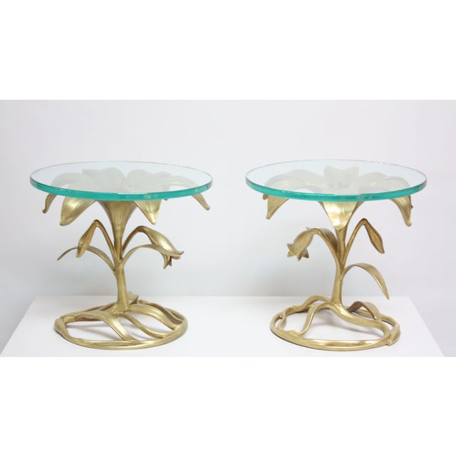 Pair of Arthur Court 'Lily' Side Tables - Image 3 of 11