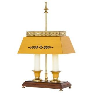 Yellow Bouillotte Lamp