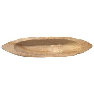Carved Teak Wood Bowl
