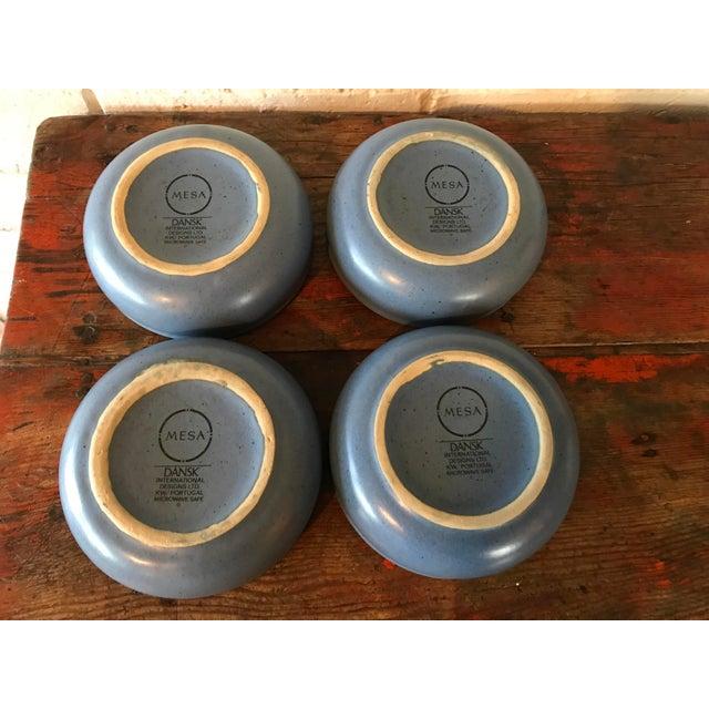 Dansk Mesa Blue Cereal Bowls - Set of 4 - Image 5 of 6