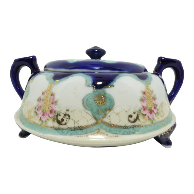 Antique Nippon Biscuit Jar - Image 1 of 7