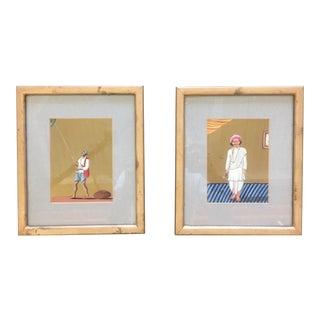 Indian Portraits - A Pair