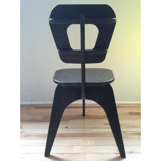 Arthur Collani Vintage 3-Legged Chair - Image 4 of 6