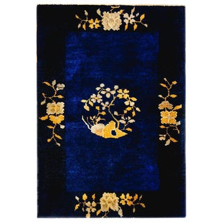 Chinese Peking Rug - 2′ × 2′10″