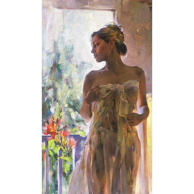 "Garmash ""Rare Beauty"" Giclee on Canvas - Image 2 of 2"